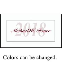 Class Of 2018 Graduation Name Cards For Your Graduation Item Gt27s Graduation Name Cards Template