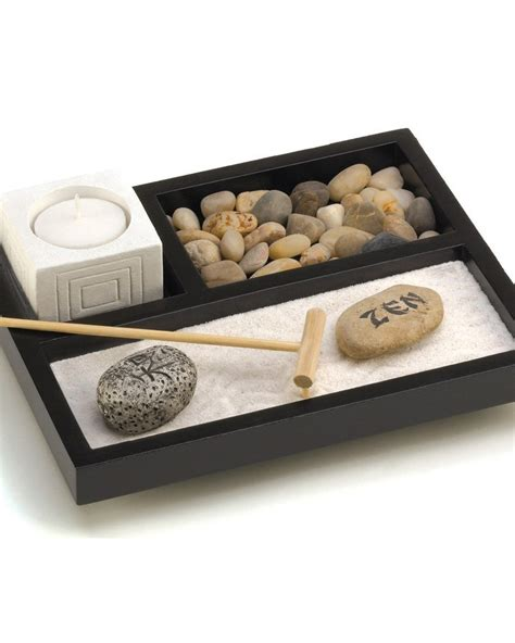 zen sand garden for desk gifts decor tabletop zen garden my zen decor