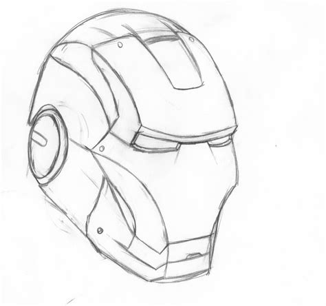 iron man helmet coloring pages drawn helmet pinart illustration of front on spartan