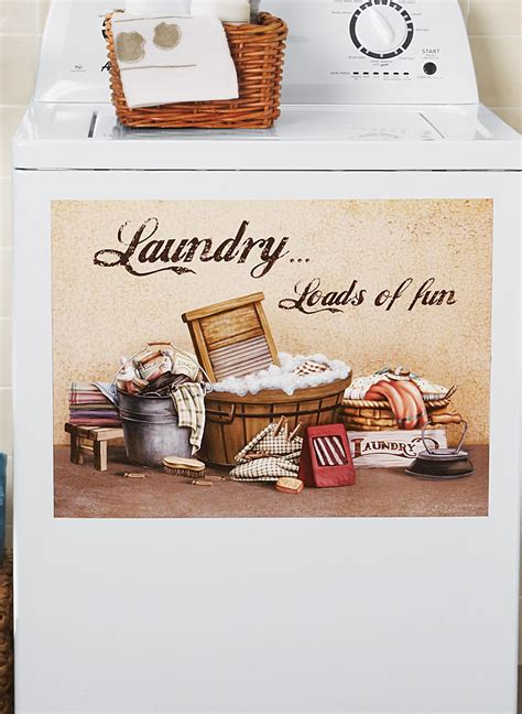 Laundry Washer Magnetic Cover Carolwrightgifts Com Covered Laundry
