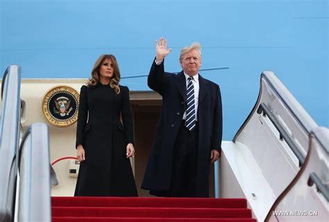 donald trump visit china trump begins state visit to china 1 4
