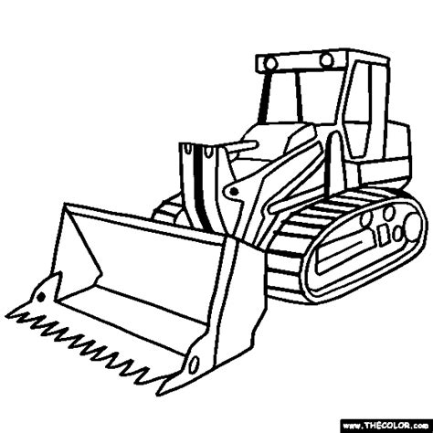 construction vehicle coloring pages