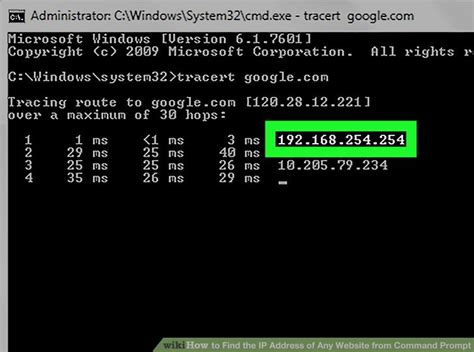 How To Search A Website By Ip Address How To Find The Ip Address Of Any Website From Command Prompt
