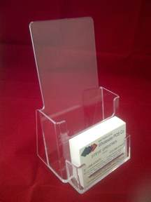 brochure and business card holders trifold leaflet holder brochure dispenser business card holders display stands ebay