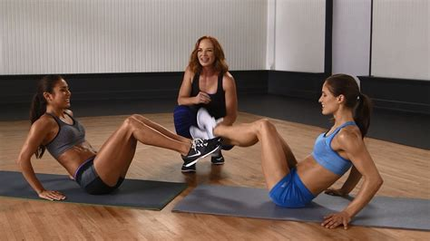 boat pose crunches on box quick no equipment partner ab workout fun and