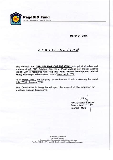 certification letter for philhealth sle certificate contribution philhealth image