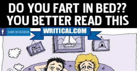 farting in bed if you fart in the bed you better read this priceless