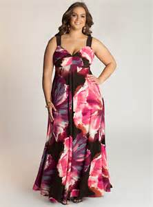 special collection of plus size maxi dresses
