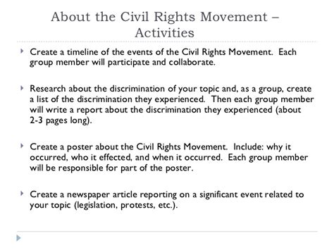 American Civil Rights Movement Essay by Essay On The American Civil