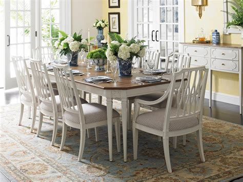 Coastal Dining Room Sets by Stanley Furniture Charleston Regency 9 Piece Leg Dining