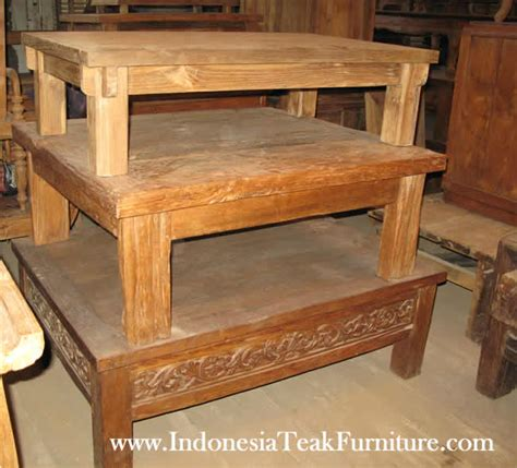 reclaimed wood furniture manufacturers indonesia