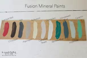 fusion paint colors wooden caddy so much better with age