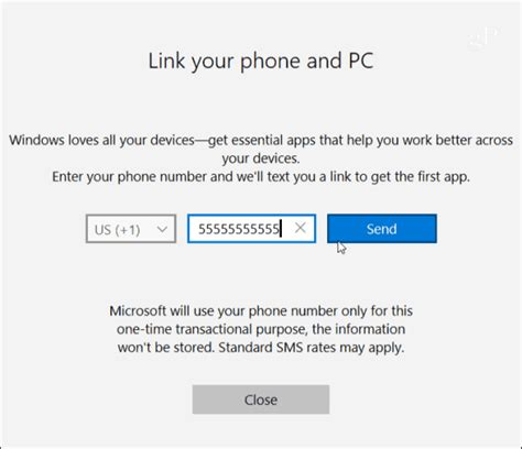 install windows 10 link connect your android phone to windows 10 with quot continue on pc quot