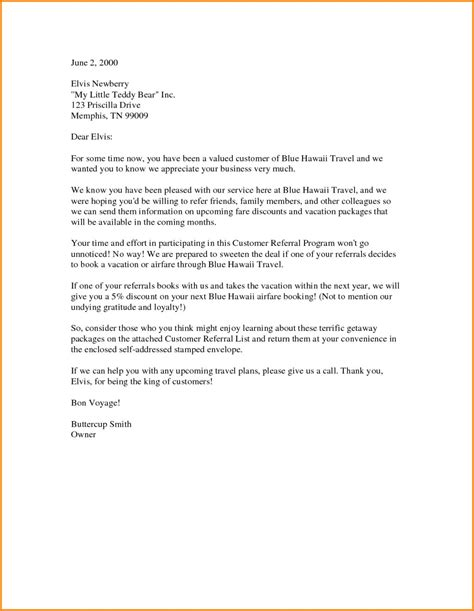 Referral In Cover Letter by Dandy Referral Cover Letter Sle Letter Format Writing
