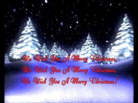 merry christmas song video lyrics youtube