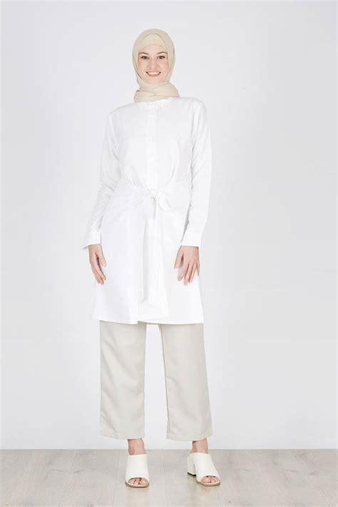 Produk Havva Tunik sell ravina dress white tops hijabenka