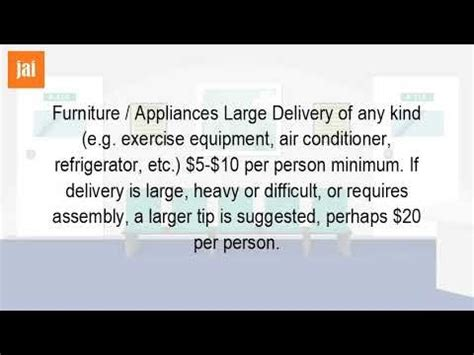 Should I Tip Furniture Delivery by How Much Do You Tip Furniture Delivery Furniture Walpaper