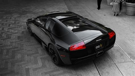 lamborghini car black black lamborghini murcielago lp640 wallpaper hd car