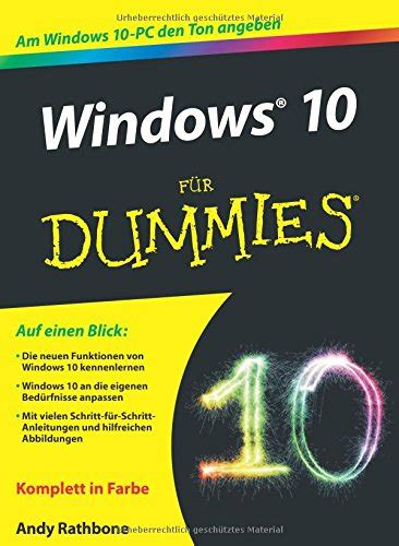 windows 10 tutorial for dummies rezension windows 10 f 252 r dummies