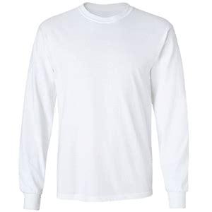 Kaos Bullshirt Lengan Panjang Putih kaos putih polos
