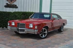 1972 Pontiac Grand Prix For Sale Bright 1972 Pontiac Grand Prix Model J For Sale Mcg