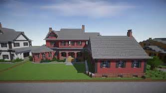 build a mansion red old mansion minecraft building inc