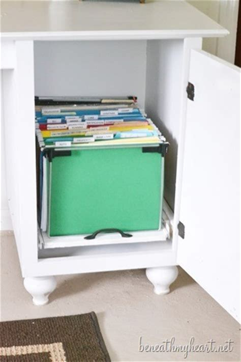 Diy File Cabinet Diy File Cabinet For My Office Beneath My