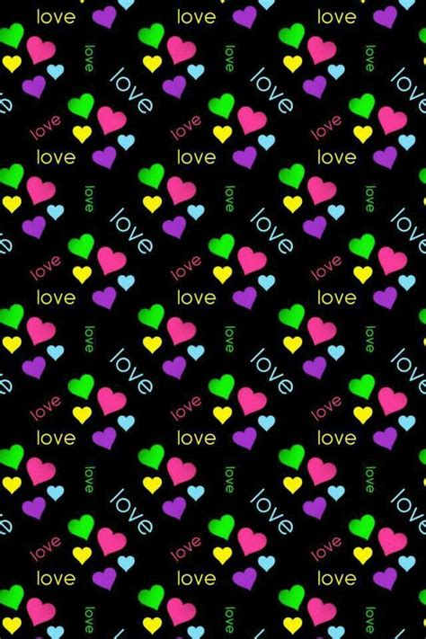 girly black wallpaper girly background heart pictures and paper 2 pinterest