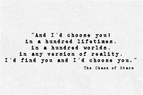 i choose you always forever books and i d choose you in a hundred lifetimes in a hundred