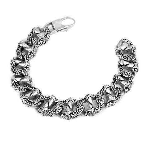 popular s domineering titanium steel bracelet snake