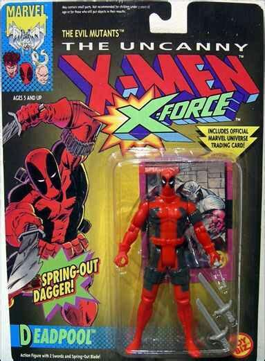 deadpool figure 90s deadpool figurebomb