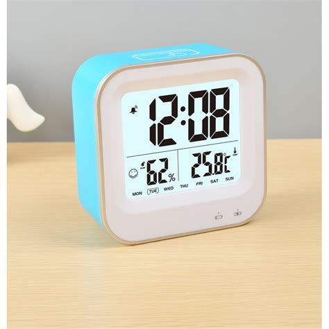 Digital Multifunction Thermometer And Hygrometer With Clock Alarm Jp9906 jam digital alarm thermometer dan hygrometer jp9909 blue jakartanotebook