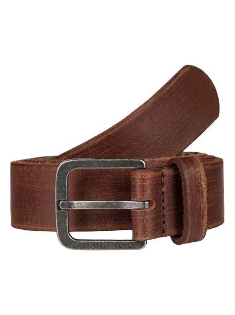 edge type leather belt eqyaa03275 quiksilver