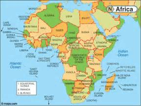 Countries Of Africa Map by Map Of Africa With Facts Statistics And History