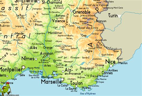 province france provence map related keywords suggestions provence map