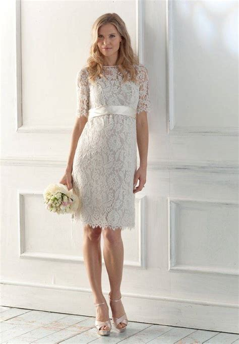 Kurze Hochzeitskleider Mit Spitze by Casual Lace Wedding Dresses For Casual Outdoor
