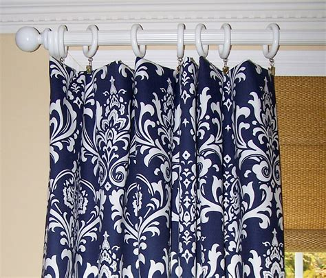 blue and white print curtains blue damask shower curtain images