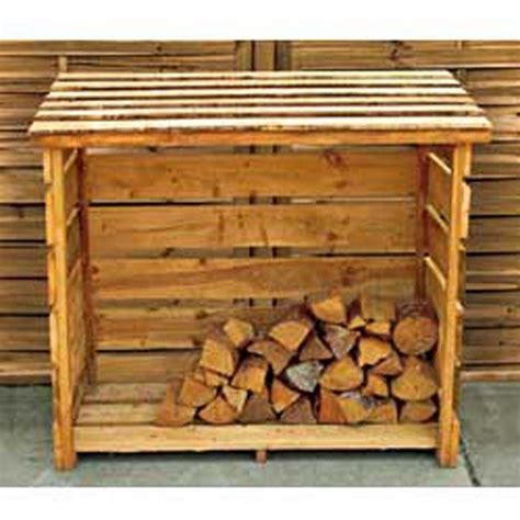 buy garden wooden log store at argos co uk your