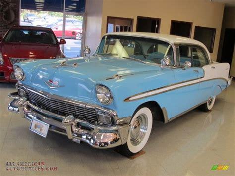 1956 Chevrolet 4 Door Hardtop For Sale by 1956 Chevrolet Bel Air 4 Door Hardtop In Nassau Blue India