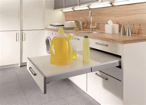 schublade für küchen unterschrank nachrüsten anbauwand buche