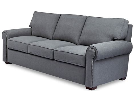 Nailhead Sleeper Sofa Alan White Sofas Accent Nailhead Sleeper Sofa