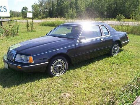 purchase used 1984 ford thunderbird base sedan 2 door 5 0l in poplar wisconsin united states