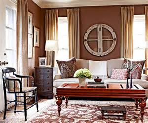 what color walls go with brown furniture what colors go with brown