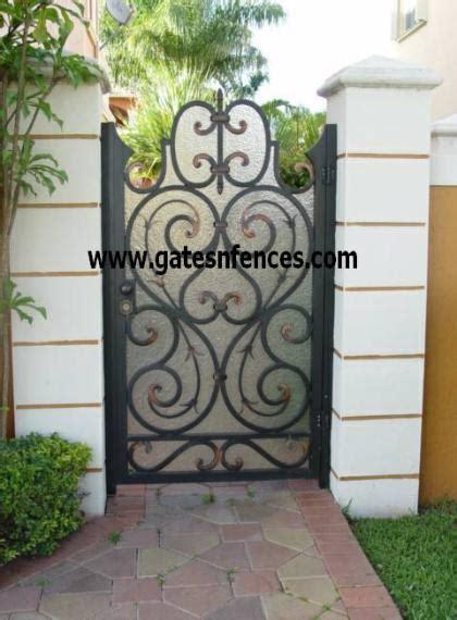garden gate doors entrance safety gate aluminum garden
