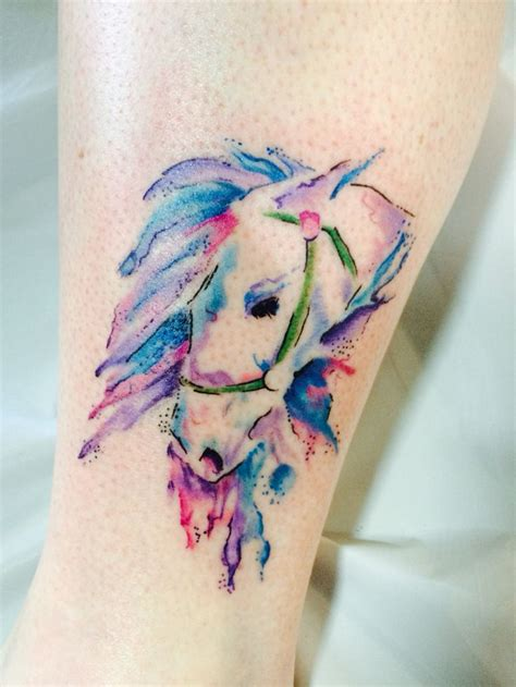 watercolor horse tattoo 80 best and tats images on hart