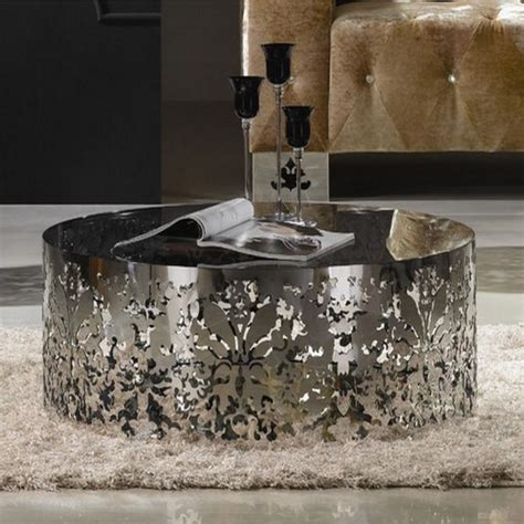 stainless steel coffee table 10 superb stainless steel coffee table designs rilane