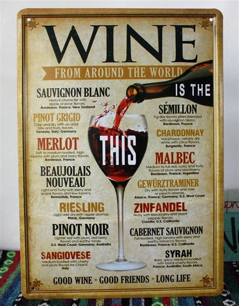 Top Bar Names In The World by Aliexpress Buy Retro Metal Poster Tin Sign Wine For