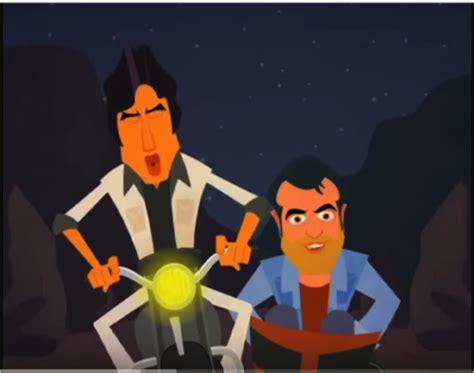 sholay film cartoon video kitne sholay the animated parodies of a classic bollywood
