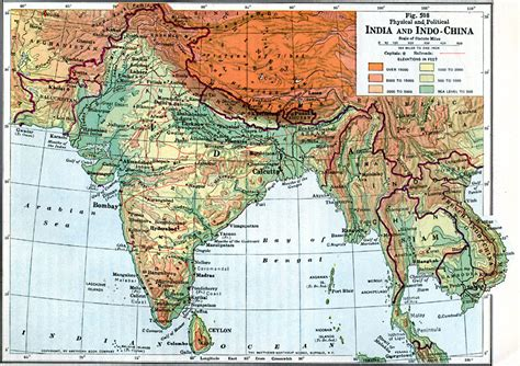 south asia physical map south asia map physical features