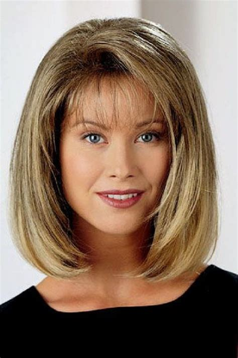 medium cut hairstyles com 10 most popular bob hairstyles with bangs medium length